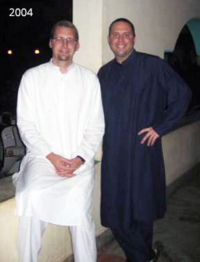 Shawn and David - 2004